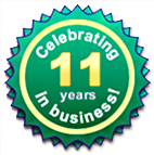 10 Years in Business!